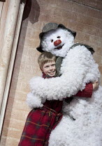 THE SNOWMAN   based on the story by Raymond Briggs   music & lyrics: Howard Blake   design: Ruari Murchison   director: Bill Alexander ~~Elliot Reeve (The Boy), Remy Martyn (Snowman)~Birmingham Repert...