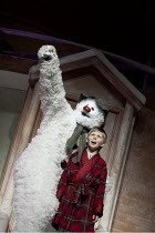 THE SNOWMAN   based on the story by Raymond Briggs   music & lyrics: Howard Blake   design: Ruari Murchison   director: Bill Alexander ~~Remy Martyn (Snowman), Elliot Reeve (The Boy)~Birmingham Repert...