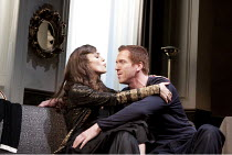 THE MISANTHROPE   by Moliere   in a version by Martin Crimp   design: Hildegard Bechtler   lighting: Peter Mumford   director: Thea Sharrock ~Keira Knightley (Jennifer), Damian Lewis (Alceste)   ~Come...