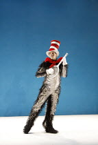 THE CAT IN THE HAT   by Dr Seuss   adapted for the stage & directed by Katie Mitchell   design: Vicki Mortimer   lighting: Jon Clark ~Angus Wright (The Cat in the Hat)   ~Cottesloe Theatre / National...