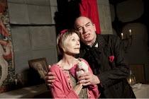 MIRACLE   by Reza de Wet    design: Belle Mundi   lighting: Edmund Sutton   director: Linnie Reedman   Susannah York (Salome), Tim Woodward (Du Pre) Leicester Square Theatre, London WC2...