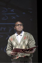 DOCTOR FAUSTUS   by Marlowe   design: David Crisp   lighting: Rachel Francis   director: Joss Bennathan ~Babou Ceesay (Doctor Faustus)   ~Present Moment / Stratford Circus / London E15           14/01...