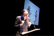 MY STORIES, YOUR EMAILS   written & performed by Ursula Martinez  (pictured)   director: Mark Whitelaw    co-commissioned by Queer Up North & barbicanbite10 / The Pit / Barbican Centre, London EC2...
