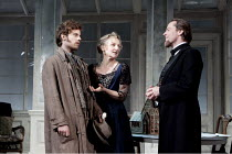 GHOSTS   by Ibsen   in a version by Frank McGuinness   design: Stephen Brimson Lewis   lighting: Oliver Fenwick   director: Iain Glen   l-r: Harry Treadaway (Oswald Alving), Lesley Sharp (Mrs Alving)...