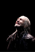 KING LEAR   by Shakespeare   design: Jon Bausor   lighting: Jon Clark   director: David Farr ~Greg Hicks (King Lear) ~Royal Shakespeare Company (RSC) / Courtyard Theatre, Stratford-upon-Avon, England...