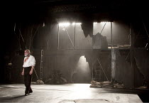 KING LEAR   by Shakespeare   design: Jon Bausor   lighting: Jon Clark   director: David Farr ~Geoffrey Freshwater (Earl of Gloucester)   set   stage~Royal Shakespeare Company (RSC) / Courtyard Theatre...
