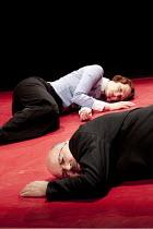 The Catastrophe Trilogy - DANIEL HIT BY A TRAIN   Nina Tecklenburg, Guy Dartnell Lone Twin Theatre / bite10 / The Pit / Barbican Centre, London EC2   03/03/2010
