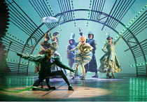 WICKED   music & lyrics: Stephen Schwartz    book: Winnie Holzman   based on the novel by Gregory Maguire   ~set design: Eugene Lee   costumes: Susan Hilferty   lighting: Kenneth Posner   musical stag...