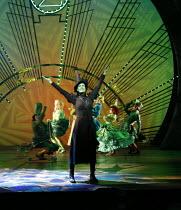 WICKED   music & lyrics: Stephen Schwartz    book: Winnie Holzman   based on the novel by Gregory Maguire   ~set design: Eugene Lee   costumes: Susan Hilferty   lighting: Kenneth Posner   musical stag...