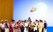 IL TURCO IN ITALIA   by Rossini   conductor: Maurizio Benini    set design: Christian Fenouillat   costumes: Agostino Cavalca   lighting: Christophe Forey    directors: Moshe Leiser & Patrice Caurier...