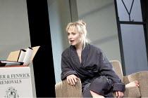 THE REAL THING   by Tom Stoppard   design: Lez Brotherston   lighting: Hugh Vanstone  director: Anna Mackmin ~Hattie Morahan (Annie)~Old Vic Theatre, London SE1                      21/04/2010