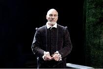 BINGO   by Edward Bond   design: Robert Innes Hopkins   lighting: Tim Mitchell   director: Angus Jackson ~Patrick Stewart (William Shakespeare) ~Minerva Theatre / Chichester Festival Theatre (CFT) / W...