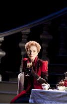 WOMEN BEWARE WOMEN   by Thomas Middleton   design: Lez Brotherston   lighting: Neil Austin   director: Marianne Elliott ~Harriet Walter (Livia)~Olivier Theatre / National Theatre (NT), London SE1   27...