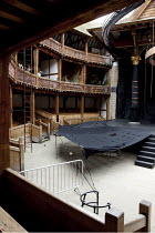 MACBETH   by Shakespeare   design: Katrina Lindsay   director: Lucy Bailey ~stage   empty   auditorium~Shakespeare's Globe (SG), London SE1  29/04/2010~(c) Donald Cooper/Photostage  photos@photostage....
