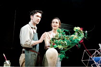 FAR AWAY   by Caryl Churchill   design: Lizzie Clachan   lighting: James Farncombe   director: Simon Godwin ~ ~Tristan Sturrock (Todd), Cara Horgan (Joan) ~Bristol Old Vic (BOV) / Bristol, England...