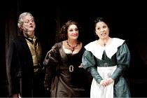 LE NOZZE DI FIGARO   (The Marriage of Figaro)   by Mozart   conductor: Colin Davis   design: Tanya McCallin   lighting: Paule Constable   director: David McVicar   l-r: Robert Lloyd (Bartolo), Marie...