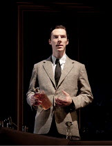 AFTER THE DANCE   by Terence Rattigan   design: Hildegard Bechtler   lighting: Mark Henderson   director: Thea Sharrock ~Benedict Cumberbatch (David Scott-Fowler) ~Lyttelton Theatre / National Theatre...