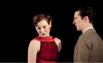 AFTER THE DANCE   by Terence Rattigan   design: Hildegard Bechtler   lighting: Mark Henderson   director: Thea Sharrock ~Nancy Carroll (Joan Scott-Fowler), Benedict Cumberbatch (David Scott-Fowler) ~L...