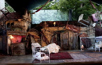 A MIDSUMMER NIGHT'S DREAM   by Benjamin Britten   after Shakespeare   conductor: Steuart Bedford   design: Francis O'Connor   lighting: Bruno Poet   director: Daniel Slater  ~set   stage   empty   pro...