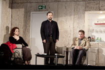 IDOMENEO   by Mozart   conductor: Edward Gardner   set design: Vicki Mortimer & Alex Eales   costumes: Vicki Mortimer   lighting: Paule Constable   director: Katie Mitchell ~waiting at the ferry termi...