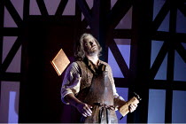DIE MEISTERSINGER VON NURNBERG   by Wagner   conductor: Lothar Koenigs   set design: Paul Steinberg   costumes: Buki Shiff   lighting: Mimi Jordan Sherin   director: Richard Jones ~Bryn Terfel (Hans S...