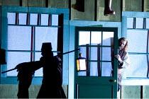 DIE MEISTERSINGER VON NURNBERG   by Wagner   conductor: Lothar Koenigs   set design: Paul Steinberg   costumes: Buki Shiff   lighting: Mimi Jordan Sherin   director: Richard Jones ~l-r: David Soar (Ni...