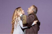SIMON BOCCANEGRA   by Verdi   conductor: Antonio Pappano   set design: Michael Yeargan   costumes: Peter J Hall   director: Elijah Moshinsky ~Marina Poplavskaya (Amelia Grimaldi), Placido Domingo (Sim...