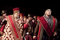 SIMON BOCCANEGRA   by Verdi   conductor: Antonio Pappano   set design: Michael Yeargan   costumes: Peter J Hall   director: Elijah Moshinsky ~Placido Domingo (Simon Boccanegra), Jonathan Summers (Paol...