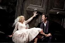 DON GIOVANNI   by Mozart   conductor: Vladimir Jurowski   design: Paul Brown   lighting: Mark Henderson   director: Jonathan Kent  ~Anna Virovlansky (Zerlina), Gerald Finley (Don Giovanni)~Glyndebourn...