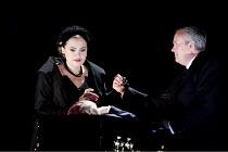 DON GIOVANNI   by Mozart   conductor: Vladimir Jurowski   design: Paul Brown   lighting: Mark Henderson   director: Jonathan Kent  ~Anna Samuil (Donna Anna), William Burden (Don Ottavio) with the body...