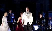 DON GIOVANNI   by Mozart   conductor: Vladimir Jurowski   design: Paul Brown   lighting: Mark Henderson   director: Jonathan Kent  ~l-r: Anna Virovlansky (Zerlina), William Burden (Don Ottavio), Anna...