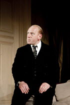 AFTER THE DANCE   by Terence Rattigan   design: Hildegard Bechtler   lighting: Mark Henderson   director: Thea Sharrock ~Adrian Scarborough (John Reid)~Lyttelton Theatre / National Theatre (NT), Londo...