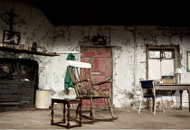 THE BEAUTY QUEEN OF LEENANE   by Martin McDonagh   design: Ultz   lighting: Charles Balfour   director: Joe Hill-Gibbins   stage   set   props The Young Vic (YV), London SE1                   21/07/...