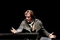 DANTON'S DEATH   by Georg Buchner   design: Christopher Oram   lighting: Paule Constable   director: Michael Grandage ~Toby Stephens (Georges Danton)~Olivier Theatre / National Theatre (NT), London SE...