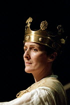 RICHARD II   by Shakespeare   design: Hildegard Bechtler   lighting: Peter Mumford   director: Deborah Warner ~Fiona Shaw (Richard II)   ~Cottesloe Theatre / National Theatre, London SE1   02/06/1995