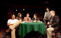 HOUSE OF GAMES   story by David Mamet & Jonathan Katz   after the screenplay by David Mamet   stage version by Richard Bean   design: Peter McKintosh   lighting: Paul Pyant   director: Lindsay Posner...