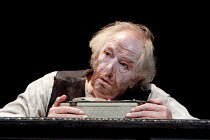 KRAPP'S LAST TAPE   by Samuel Beckett   director: Michael Colgan ~Michael Gambon (Krapp) ~Gate Theatre, Dublin production / Duchess Theatre, London WC2   22/09/2010