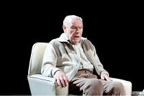 A NUMBER   by Caryl Churchill    design: Paul Wills   lighting: Oliver Fenwick   director: Jonathan Munby ~Timothy West (Salter) ~Menier Chocolate Factory / London SE1         04/10/2010