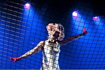 FAUST   by Bjorn Hlynur Haraldsson, Gisli Orn Gardarsson, Nina Dogg Filippusdottir, Vikingur Kristjansson & Carl Grose   after Goethe   music: Nick Cave & Warren Ellis    set design: Axel Johannesson...