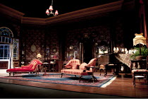 WHEN WE ARE MARRIED   by J B Priestley   design: Simon Higlett   lighting: Mark Henderson   director: Christopher Luscombe ~set   stage   empty   props   furniture~Garrick Theatre, London WC2        2...