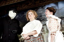 THE INVISIBLE MAN   by Ken Hill   after H G Wells   set design: Paul Farnsworth   costumes: Matthew Wright   lighting: Jason Taylor   illusions: Paul Kieve   choreography: Sam Spencer-Lane   director:...