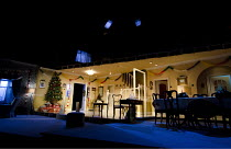 SEASON'S GREETINGS   by Alan Ayckbourn   design: Rae Smith   lighting: Bruno Poet   director: Marianne Elliott ~set   stage   props   ~Lyttelton Theatre / National Theatre (NT), London SE1    08/12/20...