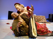 BEASTS AND BEAUTIES   retold by Carol Ann Duffy   dramatised by Melly Still & Tim Supple   design: Melly Still & Anna Fleischle   lighting: Chris Davey   director: Melly Still ~Jack Tarlton, Kelly Wil...