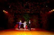 MATILDA   by Roald Dahl   book: Dennis Kelly   music & lyrics: Tim Minchin   design: Rob Howell   lighting: Hugh Vanstone   choreographer: Peter Darling   director: Matthew Warchus ~set   with (l-r) J...