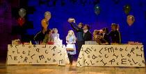 MATILDA   by Roald Dahl   book: Dennis Kelly   music & lyrics: Tim Minchin   design: Rob Howell   lighting: Hugh Vanstone   choreographer: Peter Darling   director: Matthew Warchus ~Josie Griffiths (M...