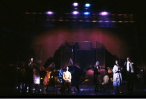 THE UMBRELLAS OF CHERBOURG   based on the film by Jacques Demy   music: Michel Legrand   set design: Michael Yeargan   costumes: Jane Greenwood   lighting: Ian Calderon   director: Andrei Serban ~~Pho...