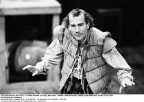 THE FAIR MAID OF THE WEST   by Thomas Heywood   set design: John Napier   costumes: Andreane Neofitou   lighting: Wayne Dowdeswell   director: Trevor Nunn ~Pete Postlethwaite (Roughman) ~Royal Shakesp...