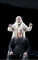 PARSIFAL   by Wagner   conductor: Mark Wigglesworth   set design: Raimund Bauer   costumes: Andrea Schmidt-Futterer   lighting: Duane Schuler   director: Nikolaus Lehnhoff ~Act III - front: Stuart Ske...