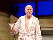 PENELOPE   by Enda Walsh   after Homer's 'The Odyssey'   design: Sabine Dargent   lighting: Paul Keogan   director: Mikel Murfi   Niall Buggy (Fitz) Druid production / Hampstead Theatre (HT), London...