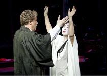 MADAM BUTTERFLY   by Puccini   conductor: Oliver Gooch   design: David Roger   lighting: Andrew Bridge   director: David Freeman ~Philip O'Brien (Pinkerton), Mihoko Kinoshita (Cio-Cio-San)~Royal Alber...